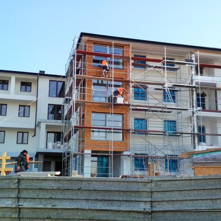 Stan budowy na  dzień 03.12.2018r.