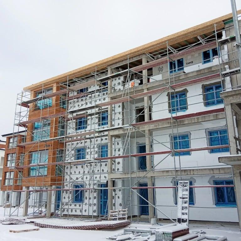 Stan budowy na dzień 03.01.2019r.