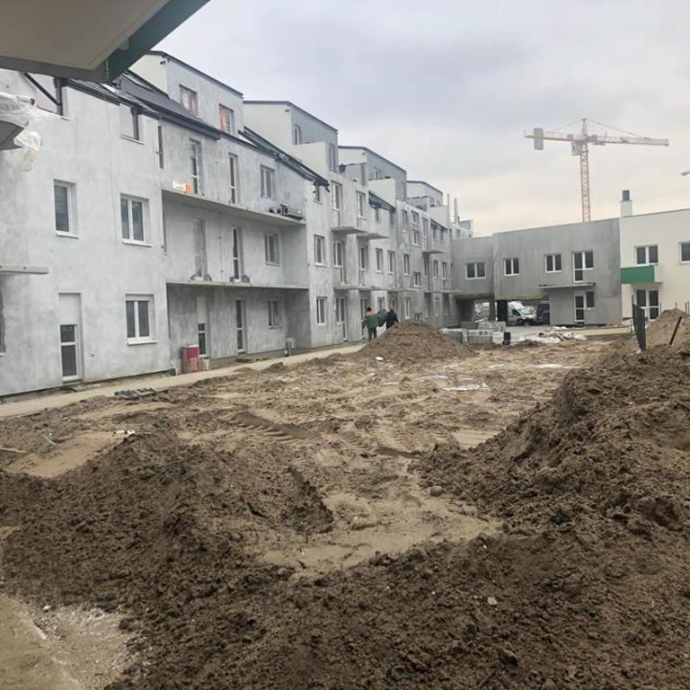 Stan budowy na dzień 1.10.2018 r.