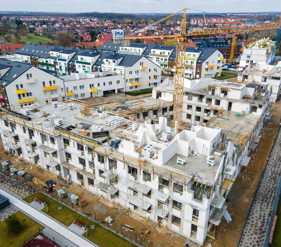 Osada Kolorowa - budynek I, J, K, L
