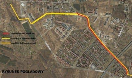 Budowa linii tramwajowej na Maślicach, przebudowa ul. Maślickiej oraz budowa ul. Nowomaślickiej